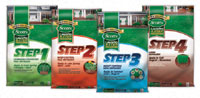 Scotts Lawn Pro 4 Step Annual Program Covers 5 000 Sq Ft Crabgr Preventer Plus Fertilizer Weed Control Insect With