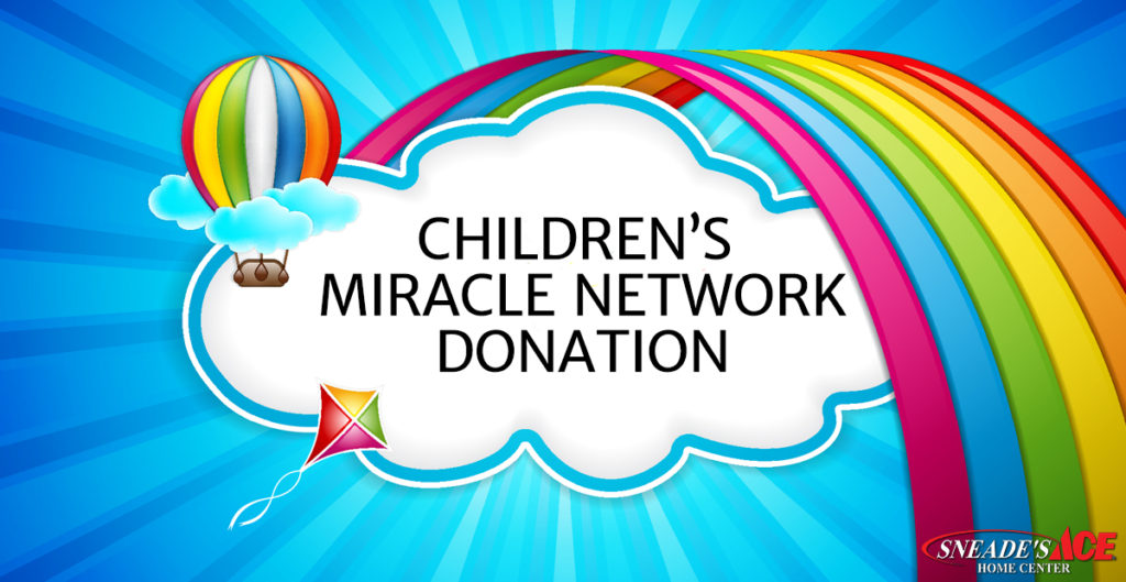 Childrens Miracle Network Donation Facebook Image Sneade